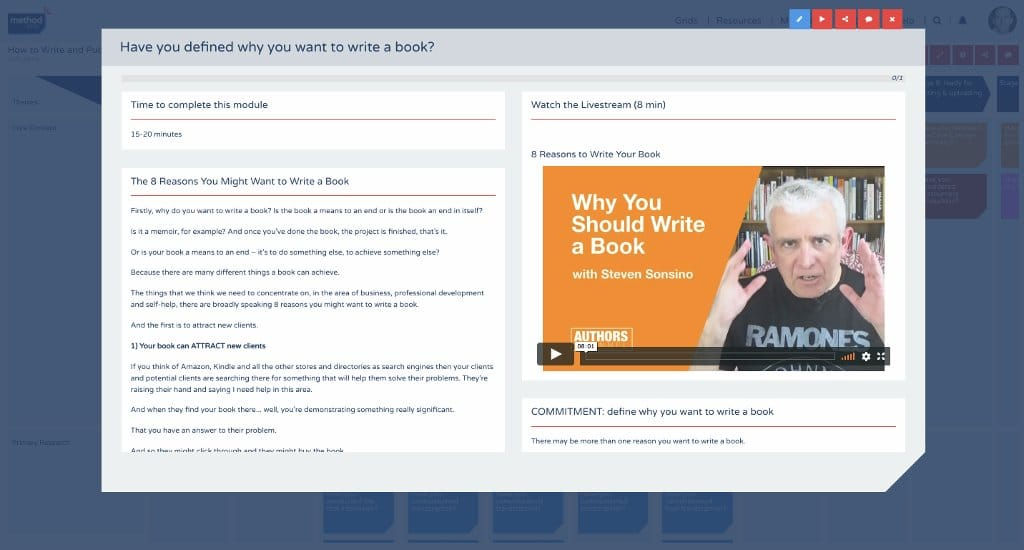 How to write and publish a business book element