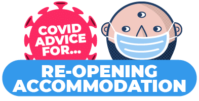 How to re-open guest accommodation safely after Covid-19